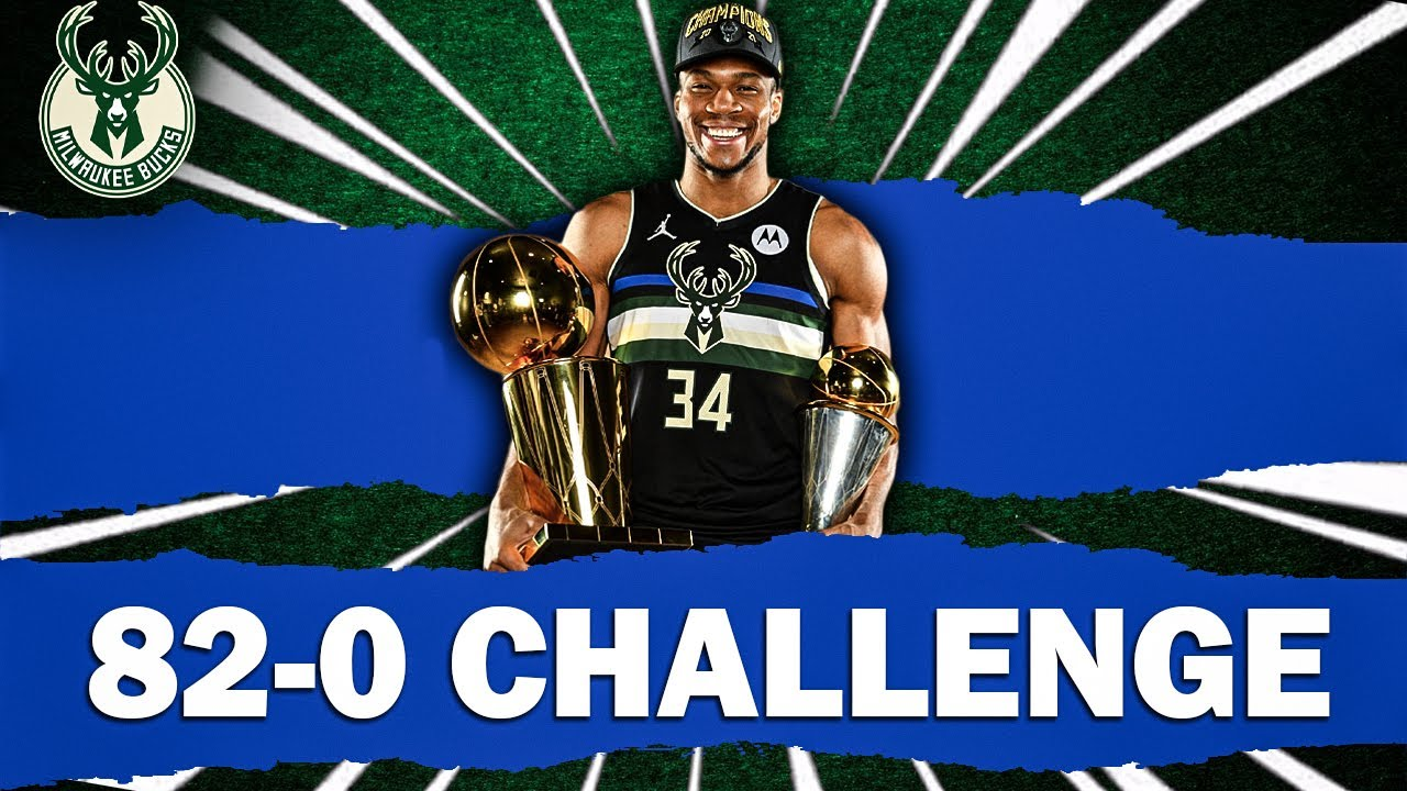 TRADING EVERYONE BUT GIANNIS! 82-0 CHALLENGE W/ THE NBA CHAMPIONS!