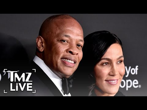 Dr. Dre Served with Divorce Docs at Cemetery as Grandmother Laid to Rest | TMZ Live