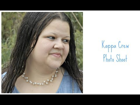 Kappa Crew Pearl String Necklace Photo Shoot