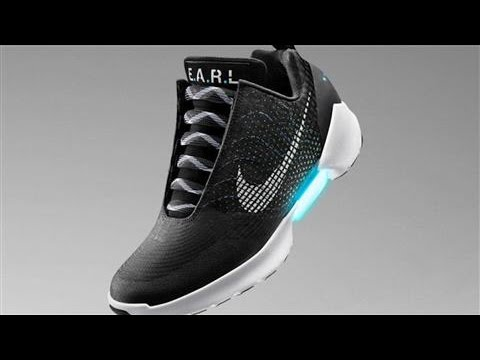 Nike Adds Self-Lacing Shoes to Sneaker Arms Race