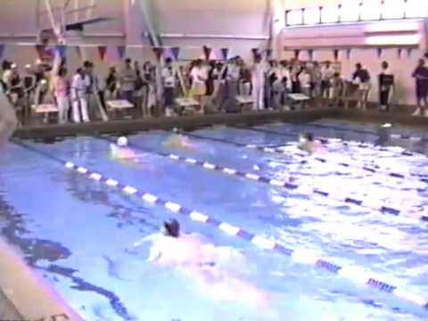 Swimming Highlands 1988 Regional Meet