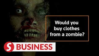 Thai zombie sells clothes to die for