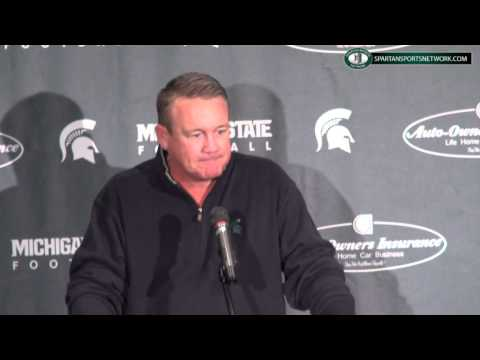 Mark Dantonio introduces Mark Snyder at Michigan State