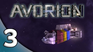 Avorion - 3. Selling Rocks - Let's Play Avorion Gameplay