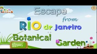 Escape From Rio De Janeiro Botanical Garden walkthrough..