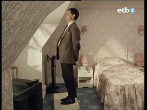 Mr.Bean en el hotel