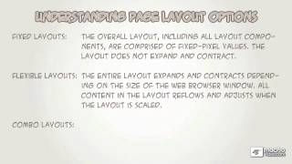 Dreamweaver CS5 101: Core Dreamweaver CS5 - 20 Understanding Page Layout Options