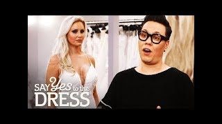 🔴Gok Wan Helps Out A Picky Bride Who Has Tried On 40 Dresses  Say Yes To The Dress UK