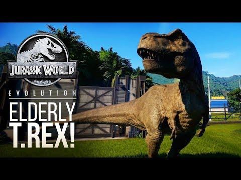 AGING T.REXES? LOADS OF NEW T.REX GAMEPLAY | Jurassic World: Evolution Tyrannosaurus Rex