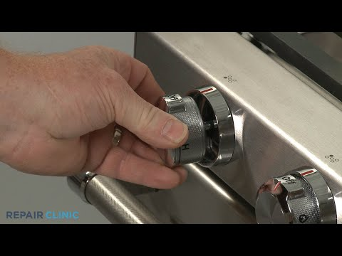 Control Knob - Kitchenaid Double Oven Gas Range (Model #KFGD500ESS04)