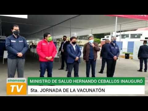 MINSA PUSO EN MARCHA VACUNATON QUE NO LOGRÓ META PREVISTA 1/2