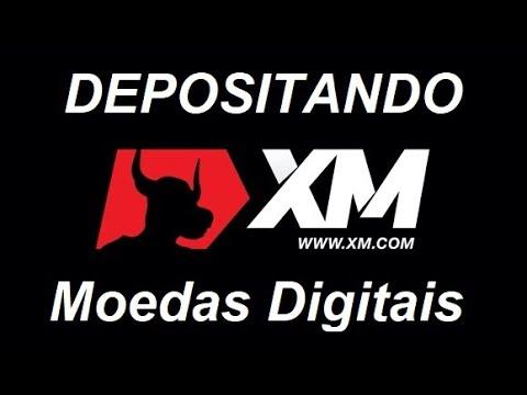XM Corretora Forex  - Como depositar Moedas Digitas