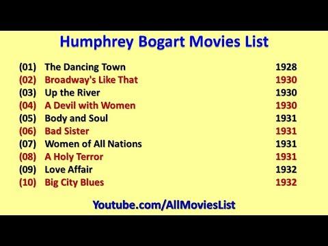 Humphrey Bogart Movies List