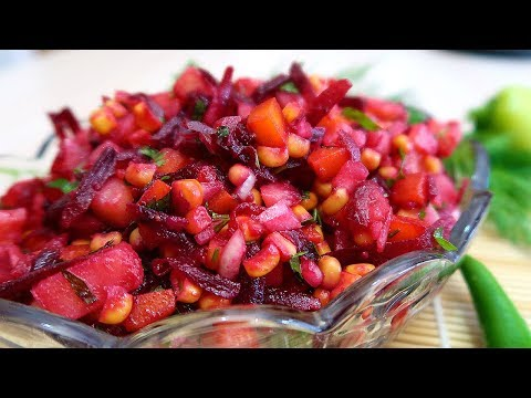 Салат из свеклы  Перуанский  Вкуснее чем винегрет