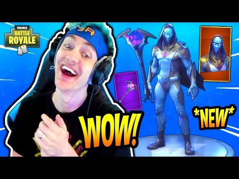 NINJA REACTS TO *NEW* OMEN SKIN & ORACLE AXE! *LEGENDARY* Fortnite SAVAGE & FUNNY Moments