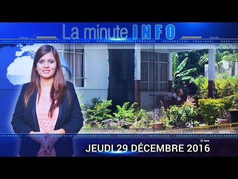 LaMinuteInfo: «Son crime commis, il souhaite Joyeux Noël...»