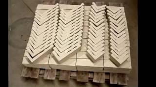 Building a Precast Thin Brick Panel Using a Paperclay Mold Liner, Nov 1 to Nov 5, 2010