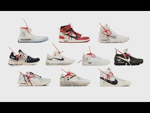 ebd7b667bc THE FULL NIKE X OFF-WHITE COLLECTION ALL 10 WORST TO BEST - YouTube