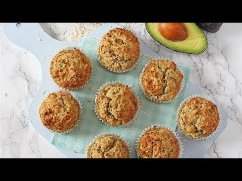 Apple, Banana & Avocado Muffins | Baby Led Weaning Muffins