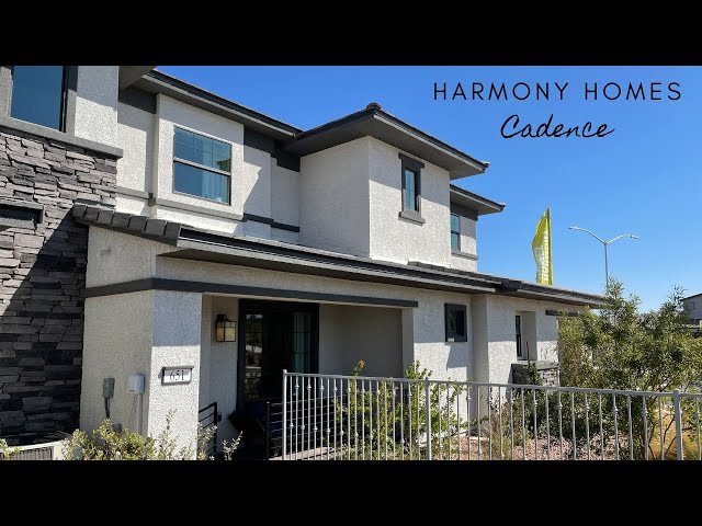 New Townhomes For Sale Henderson | $314k+, 3BD, 2.5BA 1,206sf | Avery Place Harmony Homes
