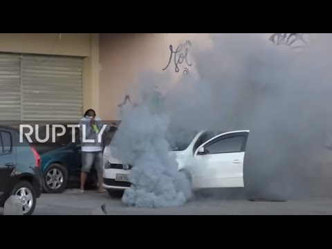 Brazil: 50 detained as police clash with anti-Olympic protesters in Rio de Janeiro