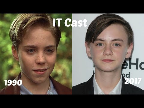 IT Movie Cast 1990 vs 2017: Then and Now
