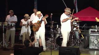"Swanky Kitchen Band ""Conch Na Ga Na Bone"" (traditional) Cajun Food Fest 2015"