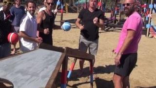 Acun Ilıcalı Oyun Parkurunda Atış Denemesi Yaptı | Bölüm 9 | Survivor 2017