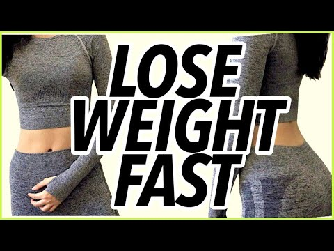 ��how to lose weight FAST (for lazy college students!)