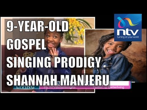 Meet 9-year-old gospel singing prodigy Shannah Manjeru