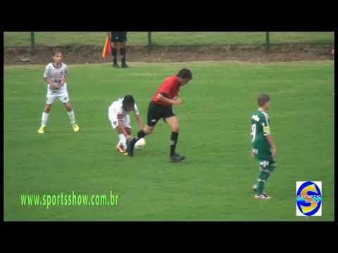 Palmeiras 4 X 1 Rio Branco cat sub 11