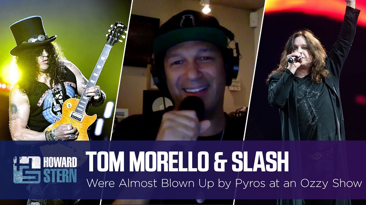 Tom Morello and Slash Almost Got Blown Up at an Ozzy Osbourne Show