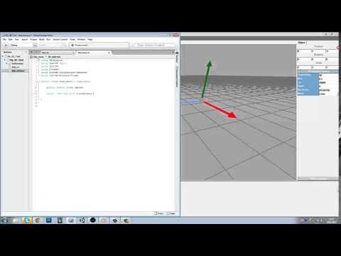 Создание 3D игр и игрового движка: Первый урок