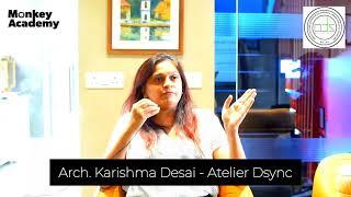 Testimonial from Arch. Karishma Desai - Atelier D Sync   Power Packed Workshop   Monkey Academy