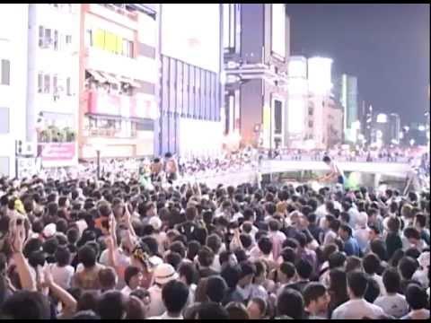 阪神タイガース優勝 2003年(平成15年)9月 道頓堀