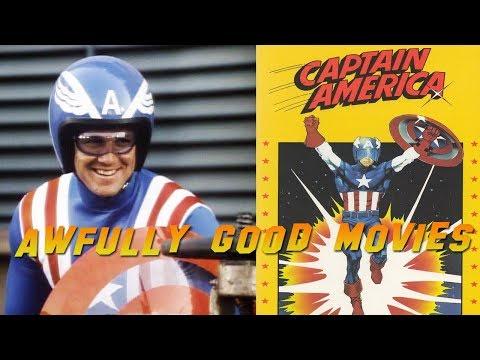 CAPTAIN AMERICA 1979  Awfully Good Movies  Reb Brown Marvel Comics TV Movie