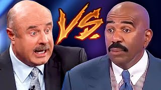 DR. PHIL VS FAMILY FEUD: Most Awkward Clips Ever - Which Is Worse??