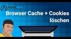 Browser Cache und Cookies löschen