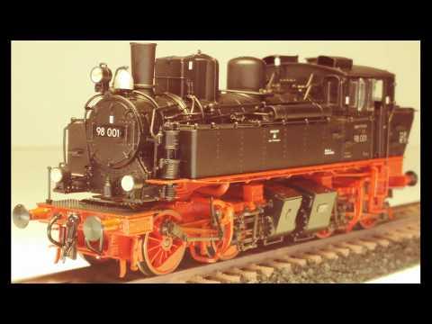 Modellbahn H0 Baureihe 98 Gützold 53100 BR 98 001 DR im Detail