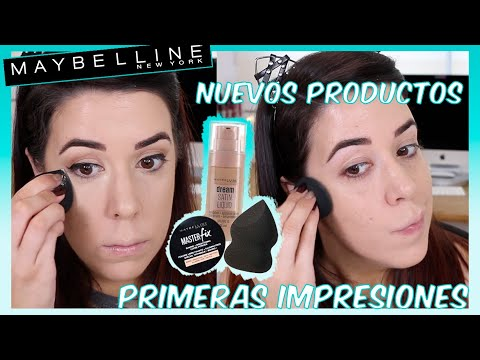 NOVEDADES MAYBELLINE NY | FACE STUDIO BLENDER, NUEVA DREAM SATIN LIQUID, MASTER FIX BRIGHT