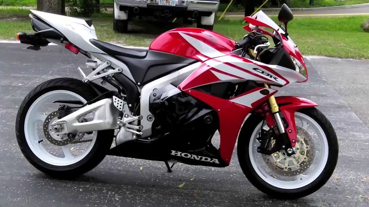 Pre Owned 2012 Honda Cbr600rr Redwhite At Euro Cycles Of Tampa Bay