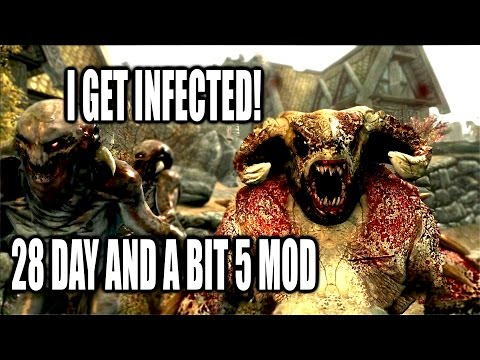 Zombie Infection Mod Skyrim   28 Days and a Bit 5 Zombie Mutation Mod Skyrim Remastered Xbox One Mod