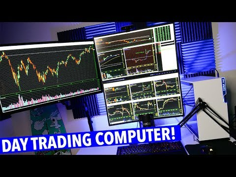 DAY TRADING COMPUTER SETUP! CUSTOM BUILT!