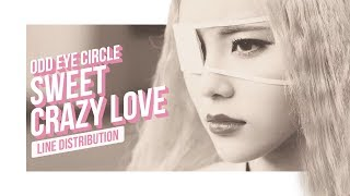 LOONA/ODD EYE CIRCLE -  Sweet Crazy Love Line Distribution (Color Coded)