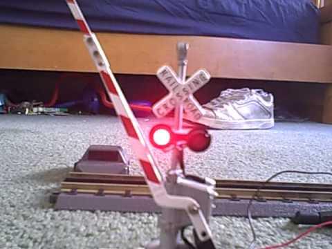 My model railroad signal (demo)