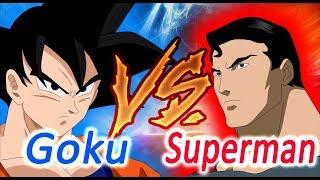 Goku Vs Superman - A primeira batalha