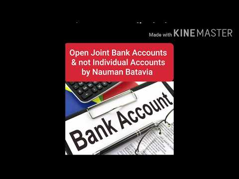 Why to choose Joint Bank Account over Individual Account? #Bankaccounts #Pakistan #JointAccount #SBP