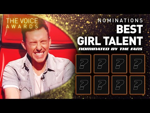 BEST GIRL TALENT nominees! 🤩 | The Voice Kids Awards