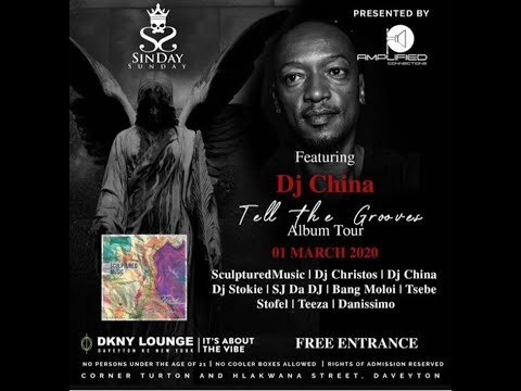 DJ China - Sculptured Music Tell The Grooves Album Tour DKNY