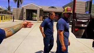 Лос-Анджелес | Американская Пожарная Часть | Влог